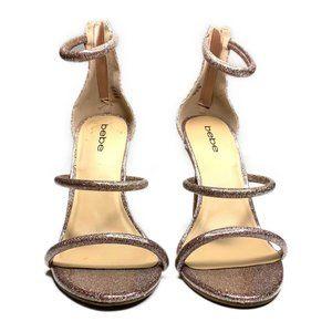 COPY - BEBE Berdine Pink Strappy Stiletto Sandal …